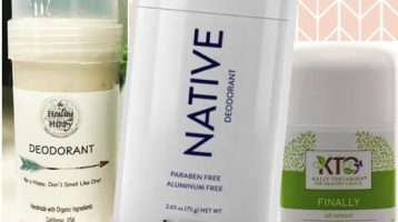 Sweat Clean, Live Dirty — My Top Three Favorite Natural Deodorants