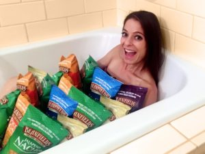 Chips so delicious, you'll want to bathe in them!